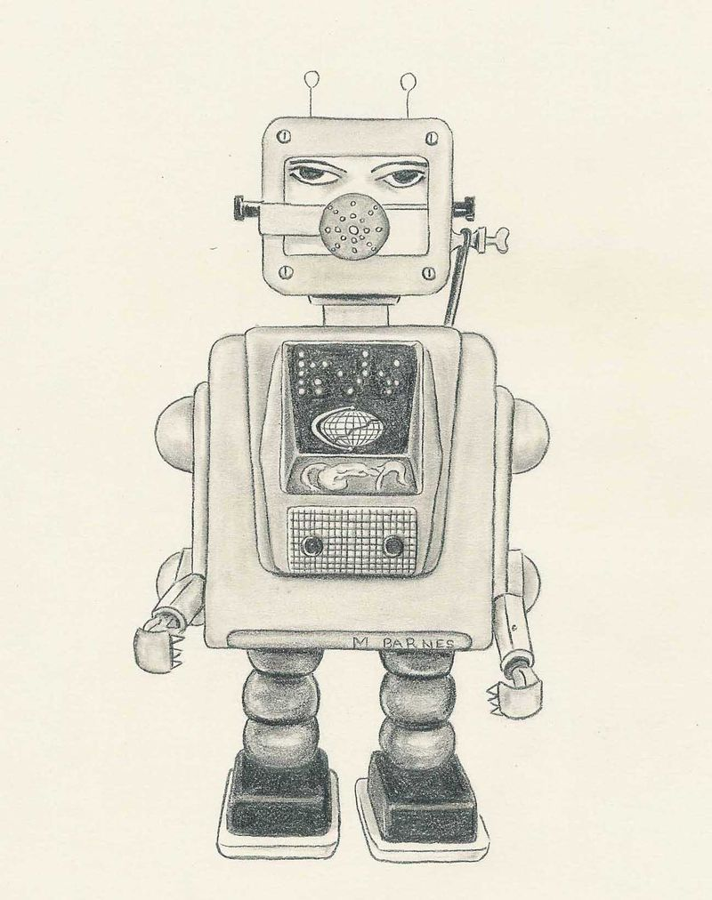 Robot illustration reduced